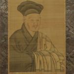 雪舟肖像画(原本)